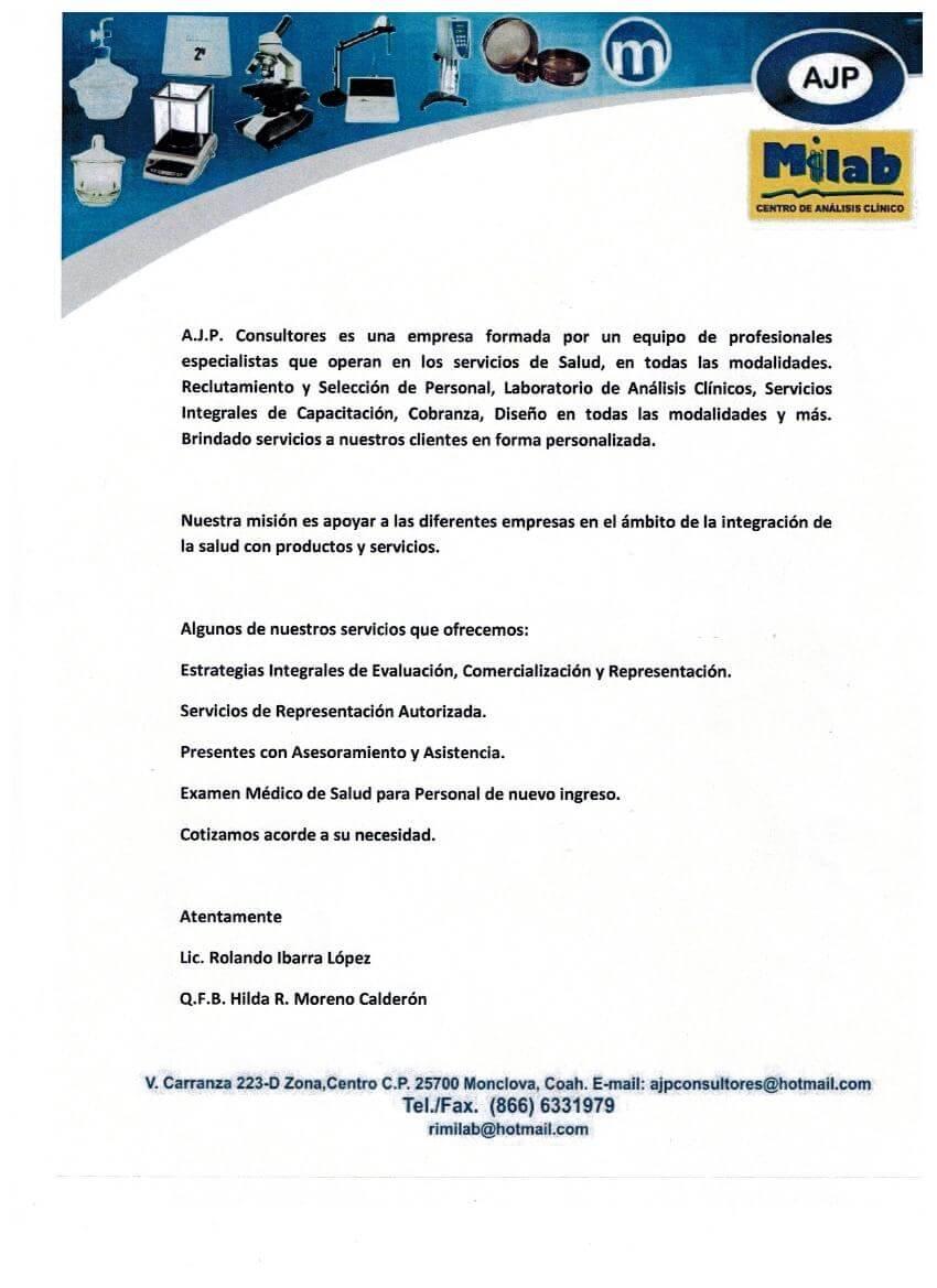 A.J.P. Consultores-Milab