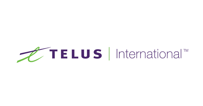 Logo de TELUS International